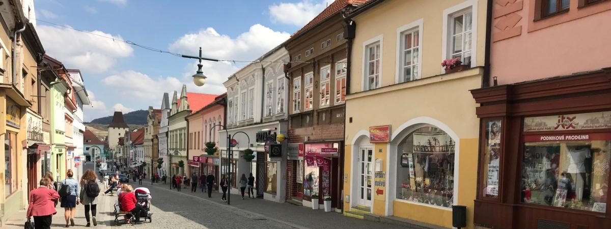 Historické centrum Berouna